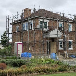 THE・ジョージアンスタイルの家